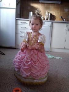 malinká růžová princezna