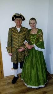 kníže a kněžna