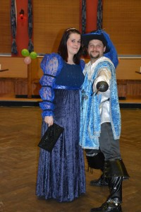 Modrá princezna a Mušketýr