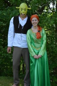 Shrek a Fiona